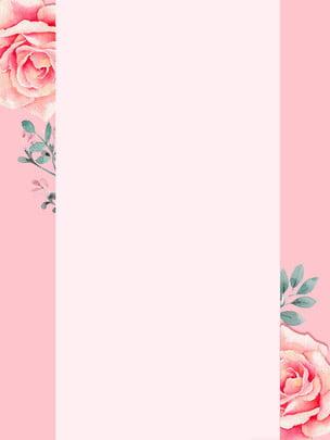 pink roses background , Rose, Poster, Banner Background image
