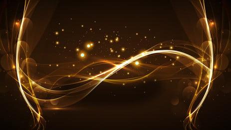 beautifully golden halo background, Golden, Halo, Poster Background image