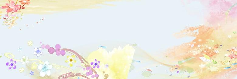 हल्के फूल पृष्ठभूमि, सुंदर पृष्ठभूमि, पैटर्न, तितली पृष्ठभूमि छवि