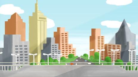 माहौल शहर पृष्ठभूमि, माहौल, शहर, प्रकाश प्रभाव पृष्ठभूमि छवि