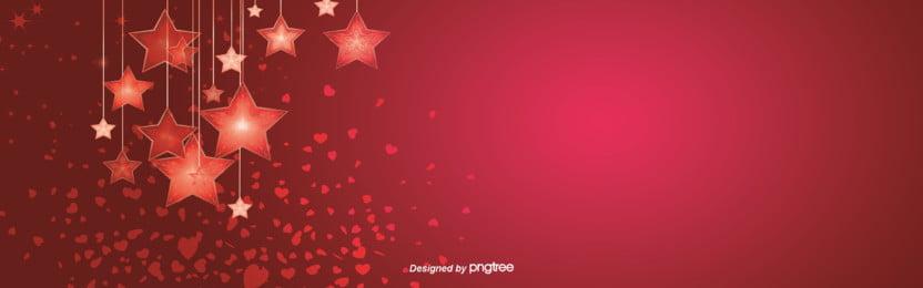 लाल सितारा पृष्ठभूमि , रोमांटिक, लाल, स्टारलाईट पृष्ठभूमि छवि