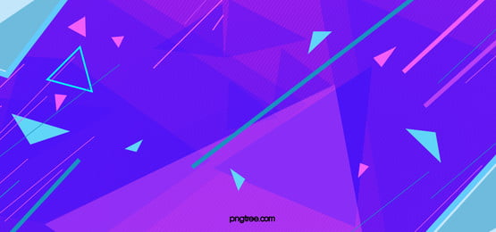 Poster Simple Abstrac Geometry Purple Background, Triangle, Blue, Banner, Background image
