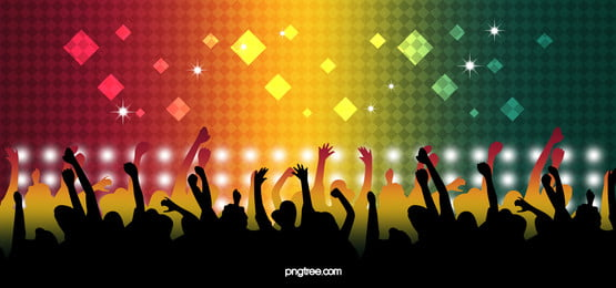 semangat latar belakang banner karnival konsert, Semangat, Karnival, Konsert imej latar belakang