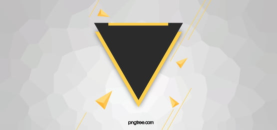 Gray Simple Geometric Background, Triangle, Shapes, Color, Background image