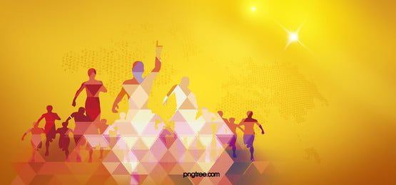 yellow background silhouette figures, Yellow, Silhouette, Figures Background image