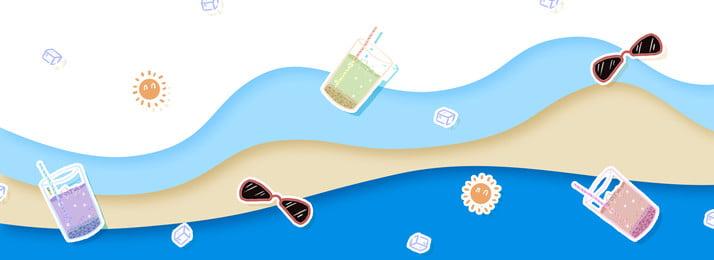 धूप का चश्मा गर्मियों में तत्वों पृष्ठभूमि, धूप का चश्मा, गर्मियों में, पोस्टर बैनर पृष्ठभूमि छवि