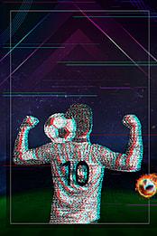 फुटबॉल पृष्ठभूमि चित्रण , फुटबॉल, इनडोर, दीवार पृष्ठभूमि छवि