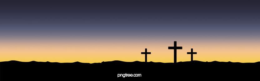 cross saat matahari terbenam, Matahari Terbit, Matahari Terbenam, Langit imej latar belakang