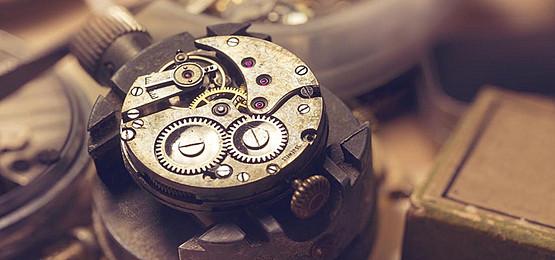 メカニズム時計仕掛けボビン金属背景, ギア, クロック, デバイス 背景画像