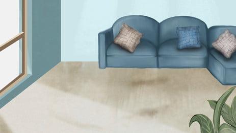 sofá studio sofá móveis quarto background, Convertible, Assento, A Casa Imagem de fundo