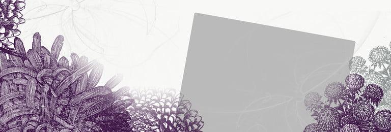 बैंगनी रंग के फूलों के फ्रेम की पृष्ठभूमि का चित्रण, बैंगनी, महान, सुरुचिपूर्ण पृष्ठभूमि छवि