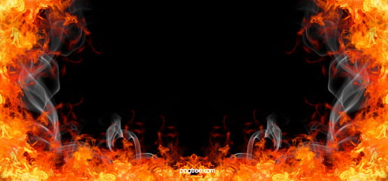 Burning Fire Background, Combustion, Raging, Fire, Background image