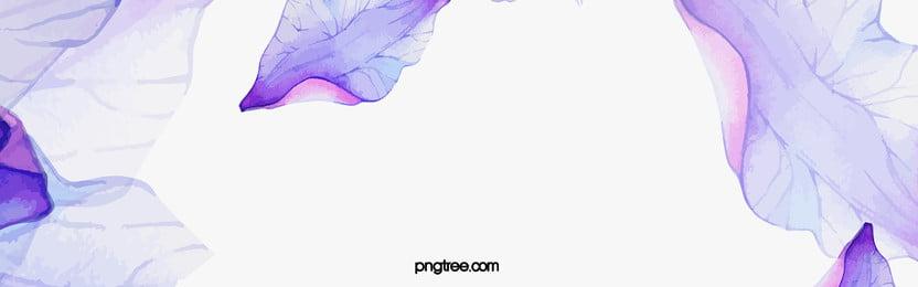 pastel ungu dakwat cat air dedaunan latar belakang, Ungu, Warna, Dakwat imej latar belakang
