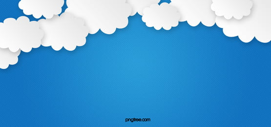 Paper-cut Cartoon Clouds Background, Cartoon, Paper, Cut, Background image