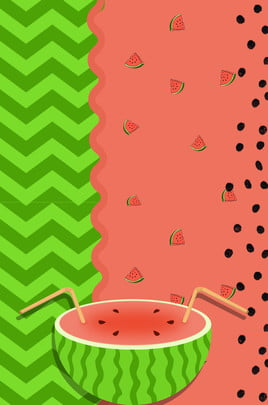 हरे रंग की गर्मी में ताज़ा तरबूज , ग्रीन, गर्मियों में, ताज़ा पृष्ठभूमि छवि