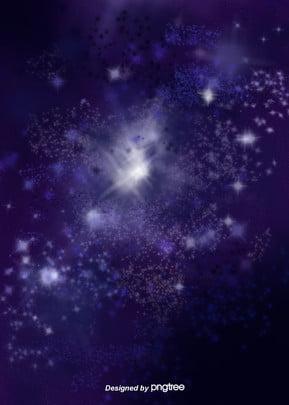 紫宇宙 , 星空, 宇宙, 星 背景画像