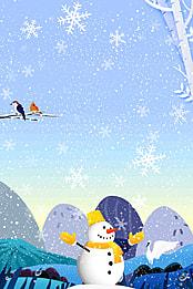 boneco de neve figura a neve o inverno background , A Holiday, Frio, Decoração Imagem de fundo