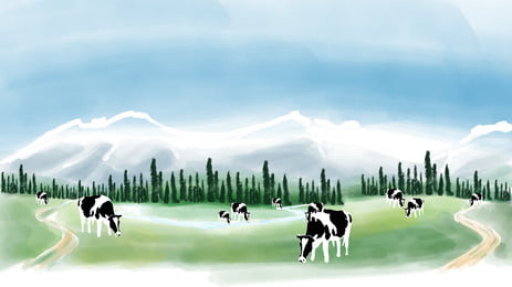 snow cow ice winter background, Cattle, Cold, Landscape Background image
