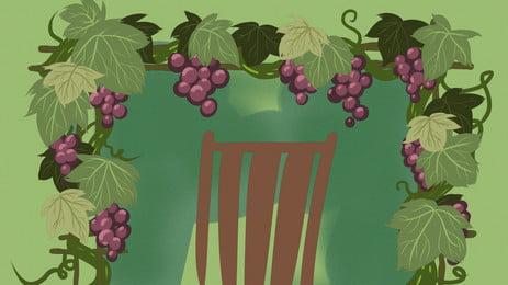 vinhedo uva fazenda uvas background, Frutas, Videira, A Agricultura Imagem de fundo