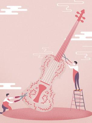 Sax Instrumento de sopro Brass Cornet Background Finance Papel Business Imagem Do Plano De Fundo