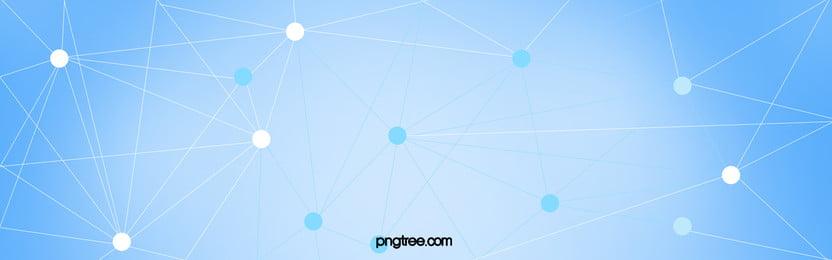 डॉट्स कनेक्ट लाइनों सजावटी बैनर की, पोल्का डॉट, लाइनों सजावट, नीले रंग की पृष्ठभूमि पृष्ठभूमि छवि