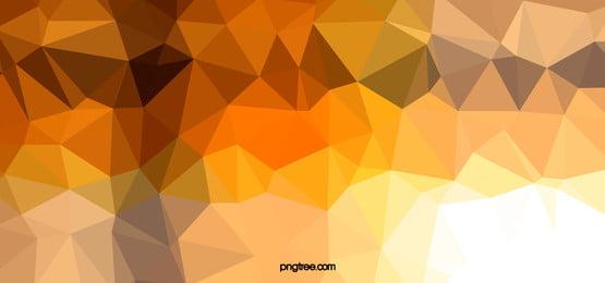 गोल्डन कम बहुभुज पृष्ठभूमि बैनर, कम बहुभुज, Materialized, फ्लैट पृष्ठभूमि छवि