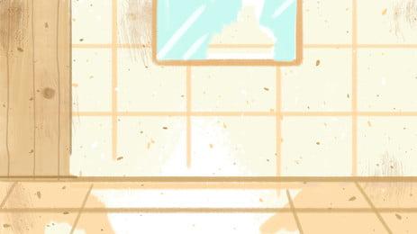 インテリア 部屋 家具 ホーム 背景, フロア, ドア, モダン 背景画像