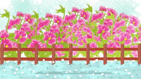 花園の景色, 花園の景色, 唯美の背景, 撮影風景 背景画像