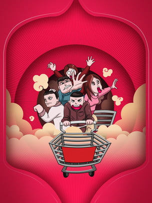 買い物車ドル , ショッピングカート, 金融, 財テク 背景画像