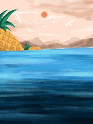 海 水の体 海 太陽 背景 ビーチ コースト サンセット 背景画像