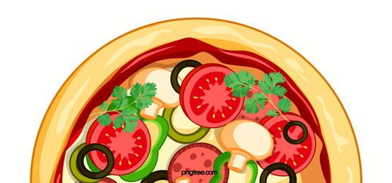 Pizza nền Pizza Thức ăn Hình Nền