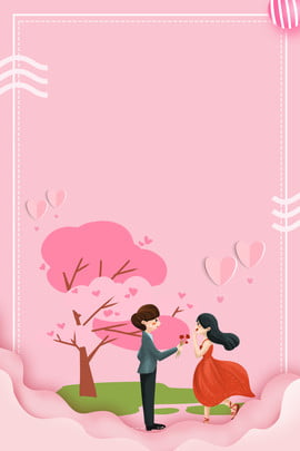 valentines day the giving tree paper cut couple red love , Valentine's, Giving, Tree Background image