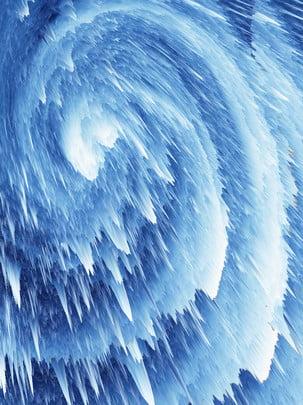 藍色冰層 , 藍色冰層, 雪山, 熔化 背景圖片