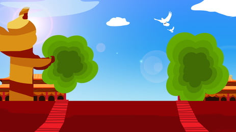 तेज लाल कालीन पर पृष्ठभूमि, लाल कालीन, कदम, खपरैल का छत पृष्ठभूमि छवि