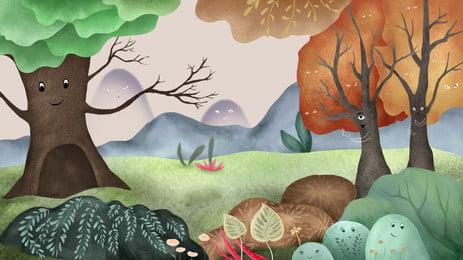 काल्पनिक परियों की कहानी परिदृश्य की पृष्ठभूमि, कल्पना, परी, से पृष्ठभूमि छवि