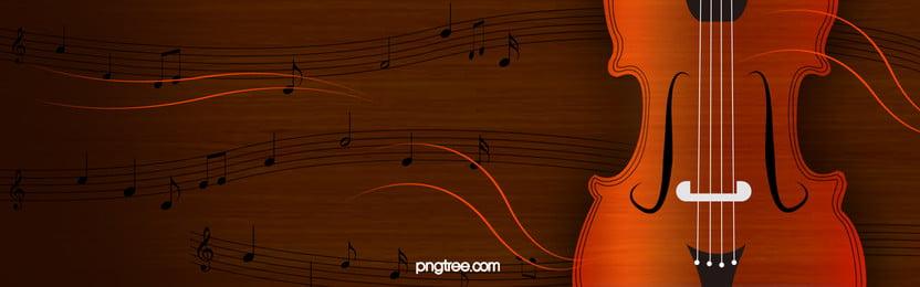 संगीत बैनर पृष्ठभूमि, तार, गिटार, स्कोर पृष्ठभूमि छवि