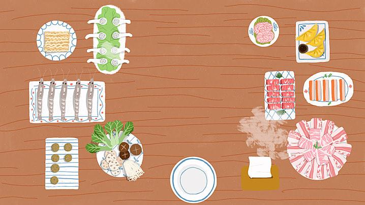 भोजन लकड़ी की मेज पृष्ठभूमि, खाद्य, लकड़ी की मेज, साहित्यिक पृष्ठभूमि छवि