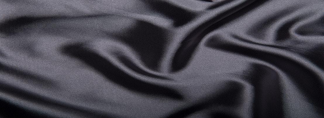 रेशम की पृष्ठभूमि, रेशम कपड़े, काले, बनावट पृष्ठभूमि छवि