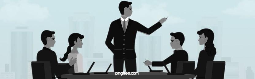 シルエット 人々 男性 グループ 背景, メン, チーム, ビジネスマン 背景画像