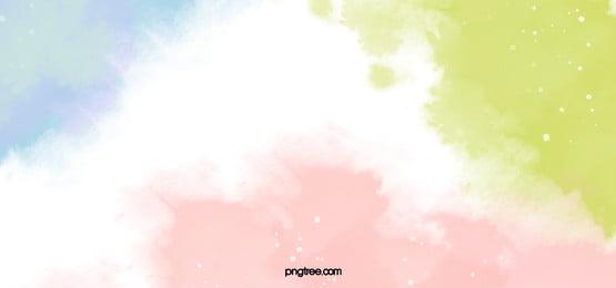 상큼하고 다채로운 자유형 배경, 수채화, 간단한, 환상 배경 이미지