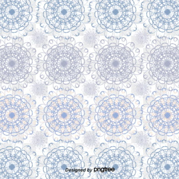 Blue And White Pattern Background Small Fresh