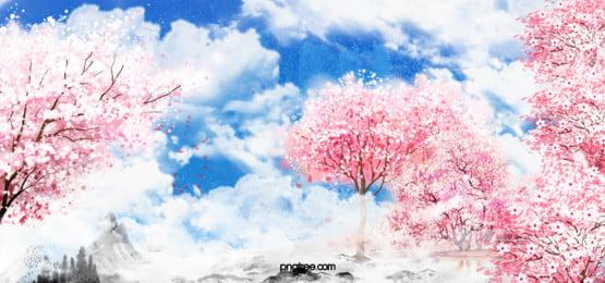 maple árvore frio a neve background, Temporada, O Inverno, O Japão Imagem de fundo