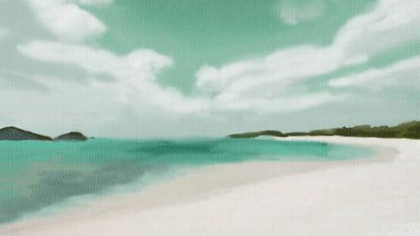 海洋海灘海砂, 沙洲, 假期, 海岸 背景圖片