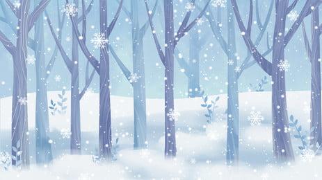 pagar kayu dan musim salji gambar, Snow, Musim Sejuk, Snow imej latar belakang