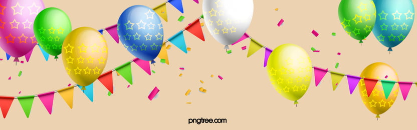 happy birthday background, Balloon, Colored, Ribbon Background image
