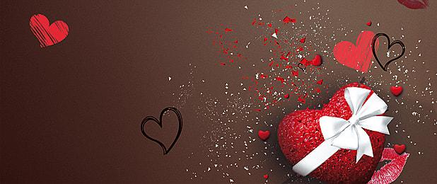 चॉकलेट पृष्ठभूमि चॉकलेट दिल के पृष्ठभूमि छवि