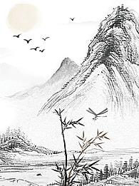 knoll rock desert landscape background , Mountain, Sky, Travel Background image