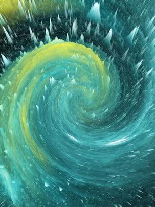 हरे रंग के swirls , ठोस रंग, ग्रीन, विंटेज पृष्ठभूमि छवि