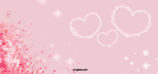 Romantic Pink Flowers Background, Pink, Romantic, Flowers, Background image