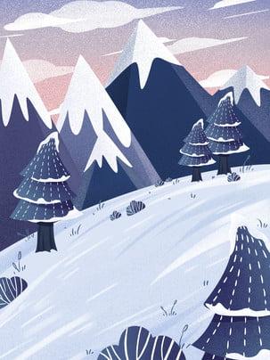 tuyết Đường trượt tuyết  băng mùa Đông  nền , Lạnh Giá., Thời Tiết, Phong Cảnh Ảnh nền